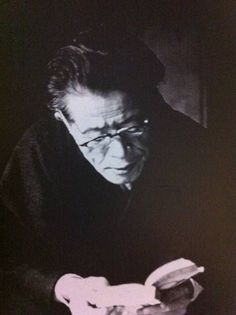 Japanese landscape architect and historian of Japanese gardens, Mirei SHIGEMORI (1896-1975). He's famous for his rock garden and moss garden at Tofuku-ji temple in Kyoto, Japan 重森三玲