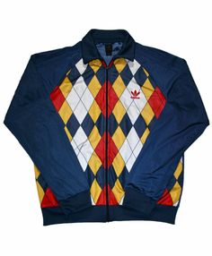 Vintage Navy Blue Adidas Track Jacket Mens Size XL $40.00