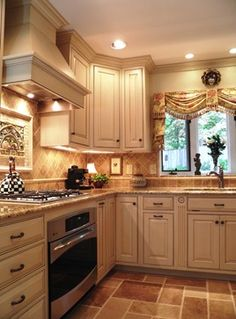 Kitchen window treatments Design Ideas, Pictures, Remodel and Decor