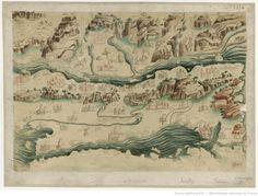 [Fac-simile par / Rosenberg ; d'une carte italienne représentant le pays compris entre la mer de Marmara et les Alpes de Transylvanie tirée…