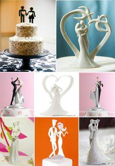 figurine_mariage_gateau_piece_montee_stylise_moderne_design