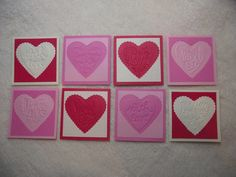 Items similar to Scrapbook Piece Set of Very Sweet and Sassy Valentine Embossed Scrapbooking Tags on Etsy Favor Tags, Gift Tags, Love Yourself Text, Handmade Tags, Scrapbook Embellishments, Homemade Cards, Mini Albums, Heart Shapes, Card Stock