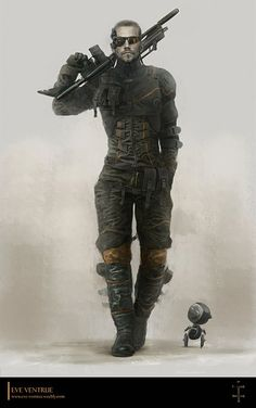 Superb fantasy illustrations and character art from German concept artist and illustrator Eve Ventrue. Eve works in the video game and movie industry. Character Concept, Character Art, Concept Art, Sci Fi Fantasy, Dark Fantasy, These Broken Stars, Art Du Monde, Future Soldier, Sci Fi Characters
