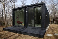 Shipping Container Turned Into Home