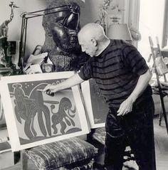 Pablo Picasso -=- Fabulosa Fotografia