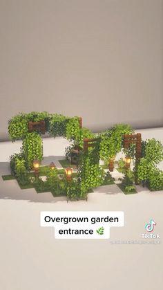 Minecraft Garden, Minecraft Farm, Minecraft Cottage, Cute Minecraft Houses, Minecraft Plans, Amazing Minecraft, Minecraft Blueprints, Minecraft Crafts, Minecraft Stuff