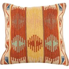 Continental Rug Company Lodge Wool Throw Pillow Size: