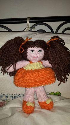 Guarda questo articolo nel mio negozio Etsy https://www.etsy.com/it/listing/482840924/bambola-crochet-amigurumi