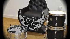 Reciclaje creativo Decoración con Baterias Musicales. Decoration with Mu...