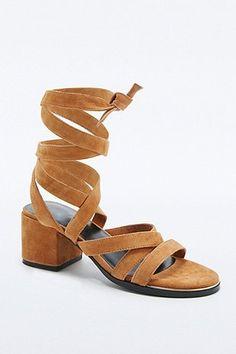 Senso May Camel Wrap Sandals