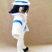 MJ Legend doll  - via @Craftsy