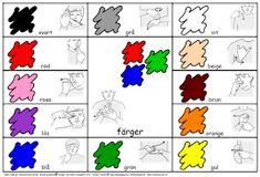 Image result for tecken som stöd färger