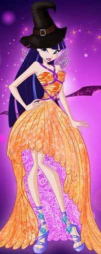 Винкс Клуб: Аватарки на Хэллоуин (Винкс принцессы)