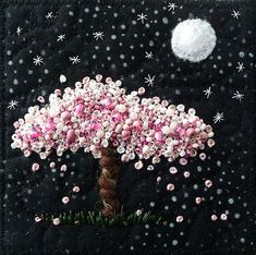 Moonlight Blossoms | Cherry blossoms by the light of the moo… | Flickr