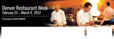Restaurant week is a way to experience amazing food for $52.80, usually for two people.  Yum.
