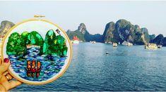 Bordado de la Bahía de Halong