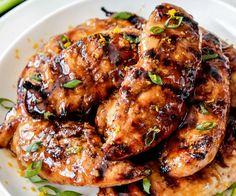 Honey Sriracha Orange Chicken