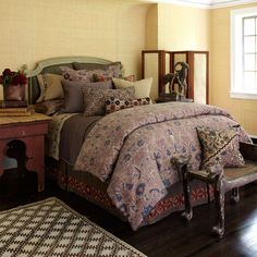 Upstairs by Dransfield Ross - Antalya Bedding | Nostalgia Home Fashions, Inc