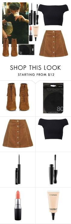 """""""Bar with Niall"""" by tutu-81 ❤ liked on Polyvore featuring Yves Saint Laurent, Topshop, Michael Kors and MAC Cosmetics"""