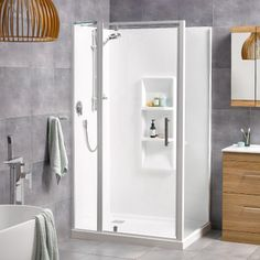 Athena Bathrooms, New Zealand owned and operated. Athena design premium baths, showers, vanities, and more bathroomware for Auckland and New Zealand. Storage Shelves, Tall Cabinet Storage, Locker Storage, New Zealand Houses, Square Tray, Pivot Doors, Door Sets, Wall Molding, Safety Glass