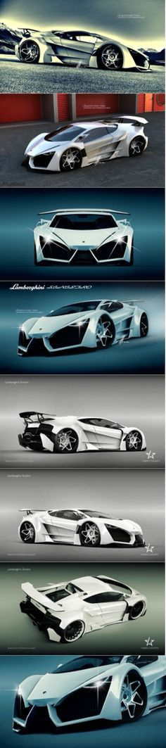 #Lamborghini Sinistro #concept