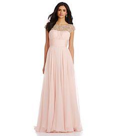 Love this blush gown