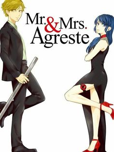 (Mr. & Mrs. SmithAU!Miraculous: Tales of Ladybug and Cat Noir) Adrien Agreste/Marinette Dupain-Cheng