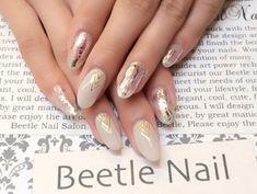 Nail Art - Beetle Nail : 八幡 ホイルネイル