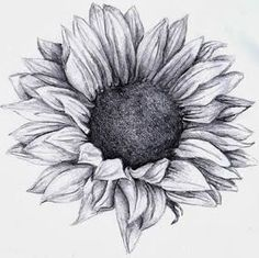 Sunflower tattoo I love this. one of the most beautiful sunflower tattoos I have seen almost makes me want to go get a tattoo..