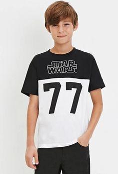 Boys Star Wars Graphic Tee (Kids) | Forever 21 #forever21kids