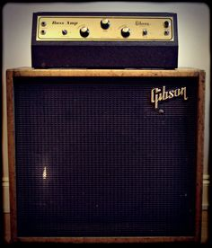 1955 Gibson Bass Amp (Photo by TheAmpFactory: Vintage & Rare Amp Collection)
