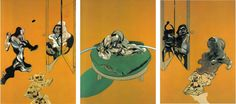 Pirates & Revolutionaries: Timeless Rhythm [61] Triptych, Studies from the Human Body, 1970. Deleuze on Bacon, Painting Series