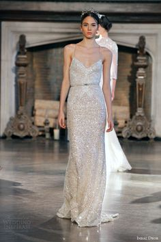 gold sequin wedding gown. #bridal | TRENDS I LOVE | Pinterest ...