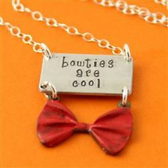 Doctor Who - Bowties Are Cool Necklace - Spiffing Jewelry