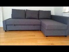 IKEA FRIHETEN Sofa Bed - YouTube
