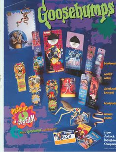 Goosebumps Vintage Products