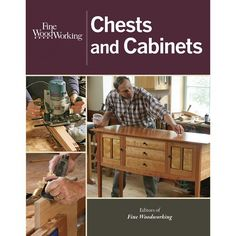 Find your next chest woodworking project with this collection of chest and cabinet projects plans. This book includes a Hickory and Ash Blanket Chest project, Shaker Blanket Chest project and more.