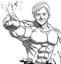 Read Nanatsu No Taizai Chapter 253 Seven Deadly Sins Anime, 7 Deadly Sins, Anime Boy Sketch, Dbz Manga, Animae Drawings, Drawing Superheroes, Alien Drawings, Marvel Tattoos, Seven Deady Sins