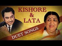 Kishore Lata Romantic Songs Collection   Evergreen Romantic Hindi Duet S...
