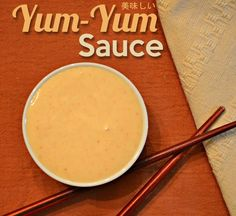 Try this EASY yum yum sauce recipe that is the closest duplication we've ever made to the Japanese steak house sauce. Add a little spice and it's the same as PF Chang's!!