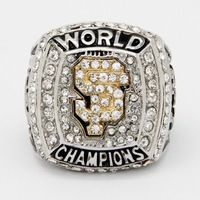 ottom Price for Replica New Design For 2012 San Francisco Giants Major League Baseball Championship Ring for Fans