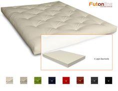Futon Shiatsu Japan Futonmatratze Futton Matratze mit 4 Lagen Baumwolle - Neu in Möbel & Wohnen, Bettwaren, -wäsche & Matratzen, Matratzen | eBay