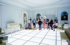 Revealing behind-the-scenes photos from pioneering Stanley Kubrick film A Space Odyssey' Stanley Kubrick, 2001 A Space Odyssey, New Scientist, Martin Scorsese, Conceptual Design, Sci Fi Movies, Sf Movies, Scene Photo, Film Stills