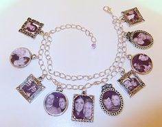 DIY- family tree photo bracelet- tutorial- great gift idea!