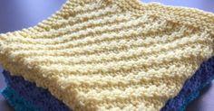 by GJ: DIY - Strikket karklud # 2 - Forskudt rib Knitting Stitches, Knitting Patterns, Popular Pins, Knitted Hats, Blog, Creative, Cotton, Cupcakes, Inspiration