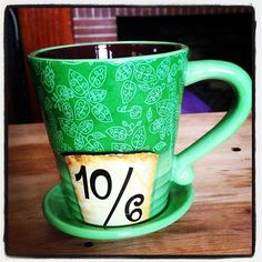 Mad Hatter Disney Mug One of my favorite disney mugs