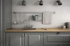 DUNAS WHITE MATT > Kitchen | 타일플랜