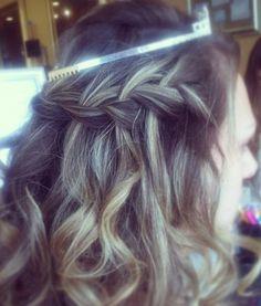 Sweet 16 Style, Waterfall braid