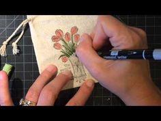 Pink Buckaroo Designs: Fancy Mini Muslin Bags Video Tutorial