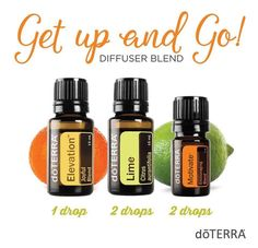 Get up and Go Diffuser Blend